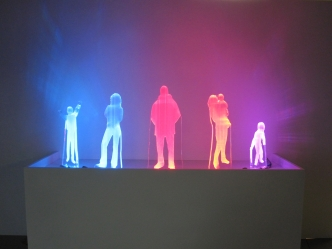 """Community Channel"" will show silhouettes of people, and each will be be lit by a different colour, that will shift over time."
