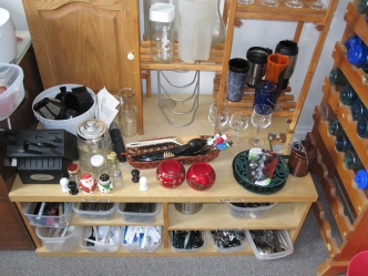 The Free Store is home to many kitchen utensils.